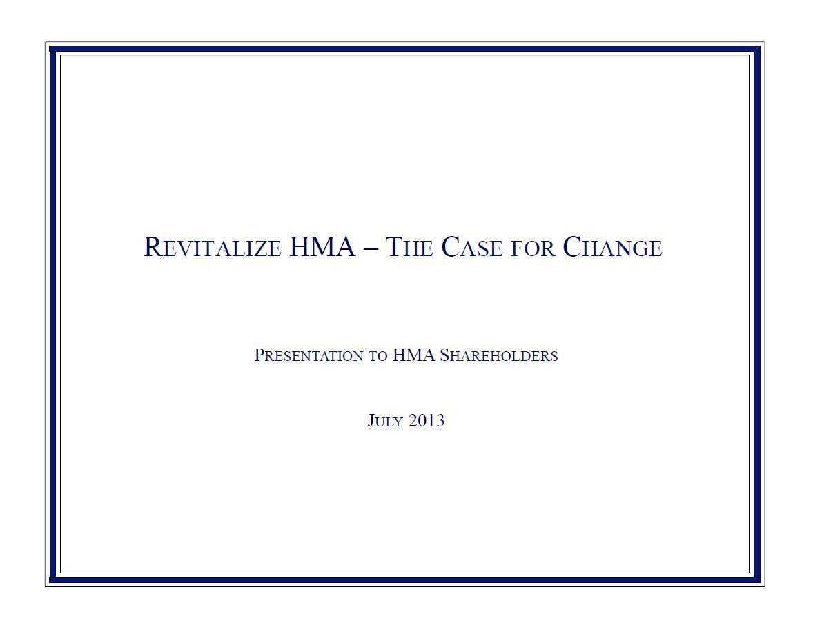 Glenview HMA Presentation (Jul-2013)