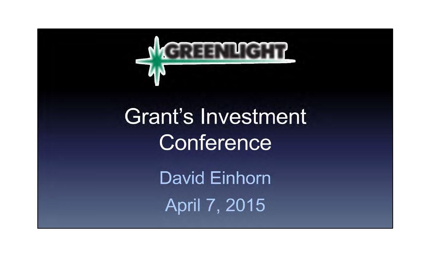 Greenlight AerCap Presentation (April-2015)