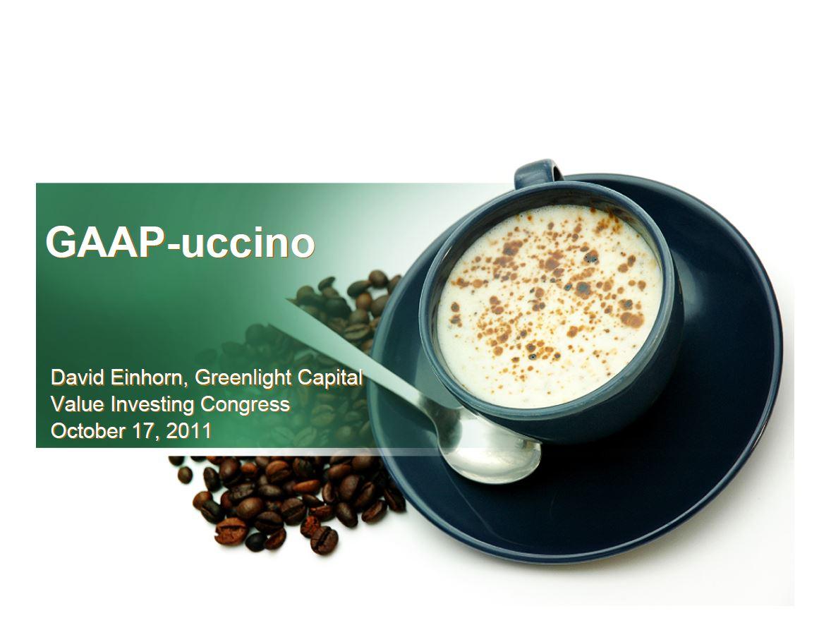 Greenlight Green Mountain Coffee Presentation (Oct-2011)