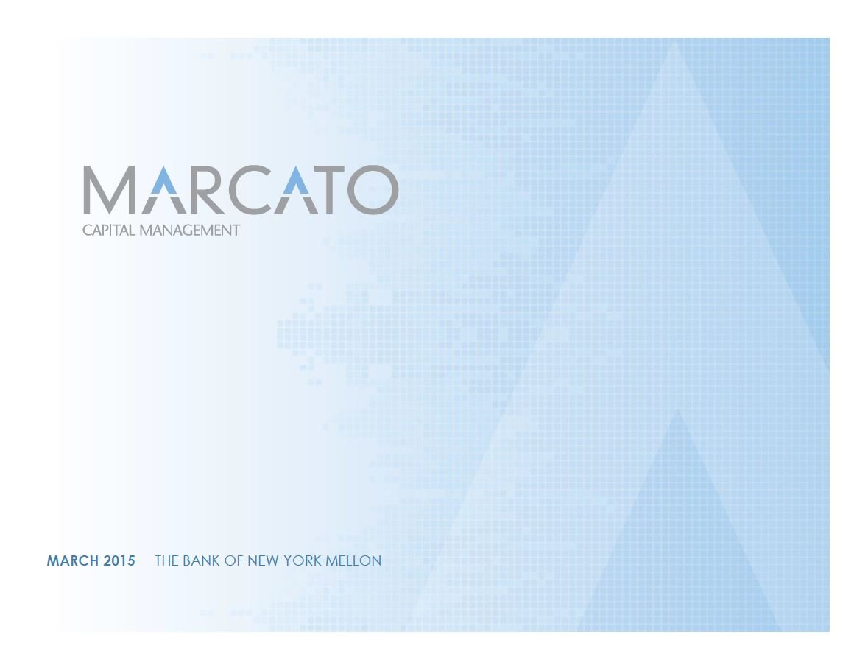 Marcato BNY Mellon Presentation (Mar-2015)
