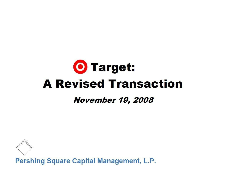Pershing Square Target Second Presentation (Nov-2008)