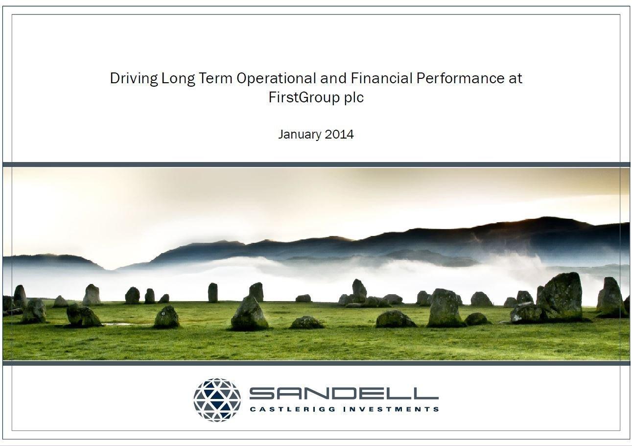 Sandell FirstGroup Presentation (Jan-2014)