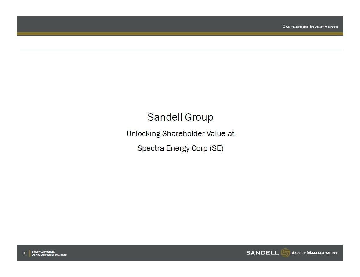 Sandell Spectra Energy Presentation (Jun-2013)