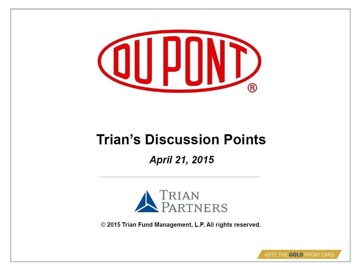 Trian DuPont Presentation (Apr-2015)