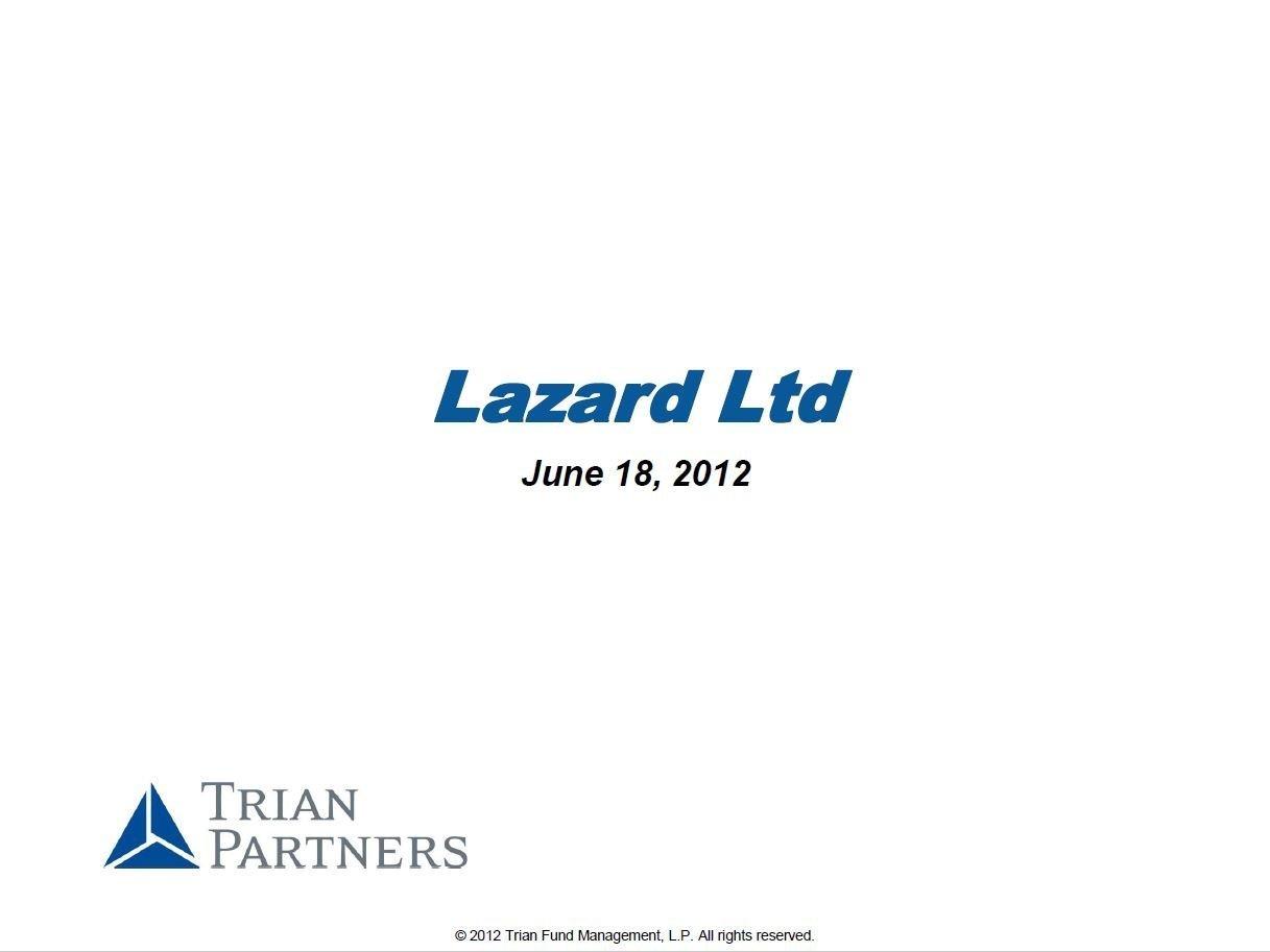 Trian Lazard Presentation (Jun-2012)